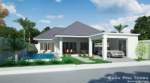 plot floor plans thai country homes guest bedroom enjoys access the terrace and swimming pool main area house which includes kitchen dining living room