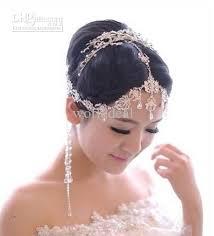 headpiece jewelry bohemia style wedding bridal jewelry bead headpiece
