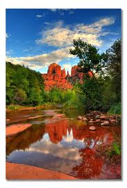Cathedral Rock Reflections At Sunset Red Rock Crossing 388 Best Cathedral Rock Sedona Az Images On Pinterest