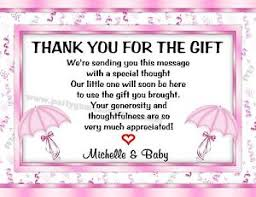 baby shower ideas wedding personalized baby shower thank you