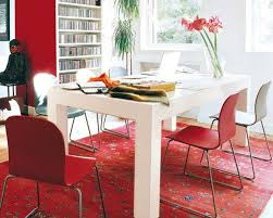 decorating ideas for interior house with red accents interior