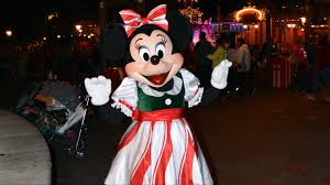 minnie mouse in new holiday meet u0026 greet at mickey u0027s very