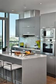Dark Gray Kitchen Cabinets by Modern Minimalist Gray Kitchen Ideas Dark Gray Cabinet White