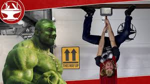 thor s electromagnetic hammer is impossible to lift youtube