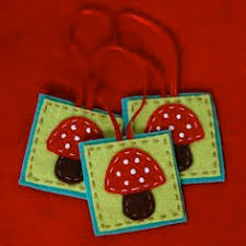 felted toadstool ornaments 10 toadstool