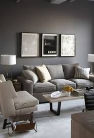 Living Rooms With Beautiful Use Of The Color Grey Typography - Grey and brown living room decor ideas