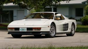 80s ferrari yes the actual ferrari testarossa from miami vice could be yours