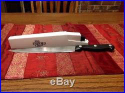 self sharpening kitchen knives pered chef 8 chefs knife in self sharpening honing storage