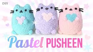 diy pusheen cat plush make adorable budget plushies using socks