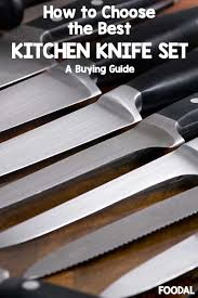 choosing kitchen knives the best kitchen knife sets of 2018 a foodal buying guide