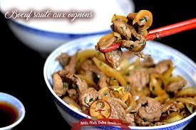 cuisine chinoise boeuf aux oignons boeuf sauté aux oignons petits plats entre amis