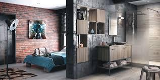 chambre style loft industriel loft industriel salle de bain seattle par crescent style