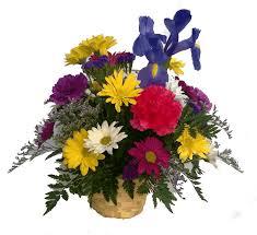 basket of flowers basket neitzert s greenhouse