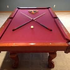 brunswick contender pool table find more brunswick shorewood mahogany contender series 8 pool