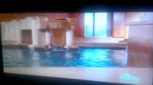cool pool houses cool pools hgtv roman bath house 1 youtube