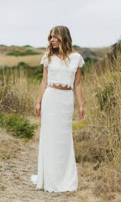 two piece wedding dress rosaurasandoval com