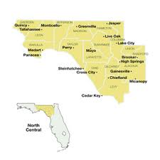 Map Of North Florida Counties Florida Day Trips And Scenic Drives 100 Maps And 200 Destinations