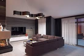 modern style homes interior photorealistic rendering and interior design of modern style house