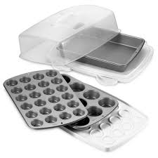 wilton ultimate bake and carry 6 piece bakeware set bed bath