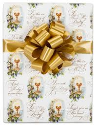 communion gift in x 10 ft communion gift wrap
