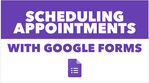 Google Forms Help Desk Scheduling Appointments With Google Forms Youtube
