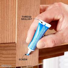 Kitchen Cabinet Fasteners by How To Install And Level Cabinet Doors How Tos Diy Screws For