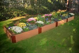 4 u0027 x 16 u0027 composite raised garden bed eartheasy com