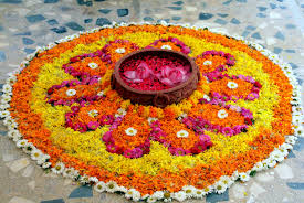 flower and colour rangoli rangoli designs easy and simple