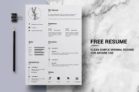 reference resume minimalistic logo animations 130 new fashion resume cv templates for free download 365 web