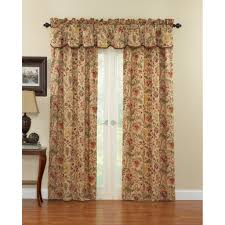 Kitchen Curtains Valance by 100 Owl Kitchen Curtains Rhythm Heavy Chenille Red Brown