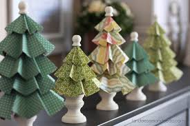 paper cone christmas tree christmas lights decoration