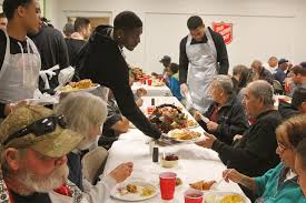 the salvation army thanksgiving dinner odessa american gallery