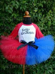 Harley Quinn Halloween Costume Kids Harley Quinn Squad Tutu Costume Tututiara