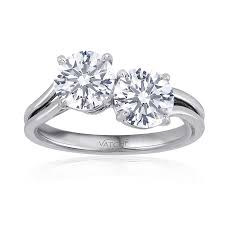 two diamond ring vatche two diamond ring spiegel jewelers cleveland ohio