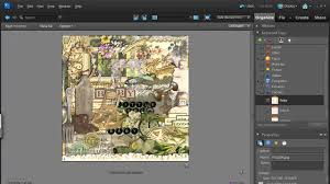 organize your digital scrapbooking supplies in photoshop elements