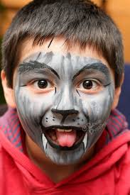 Face Makeup Designs For Halloween by Best 10 Wolf Face Paint Ideas On Pinterest Lion Face Paint