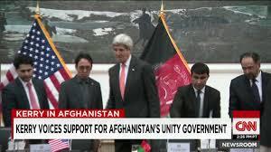 Flag Of The Taliban Kabul Afghanistan Rockets Targeted Kerry Taliban Say Cnnpolitics