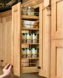 Pull Out Spice Rack Cabinet by Pantry And Food Storage Storage Solutions Custom Wood Products