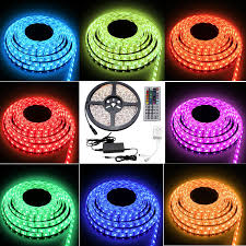 cheap led light strips besdata 16 4ft 5m waterproof lights 300 led 5050 smd color