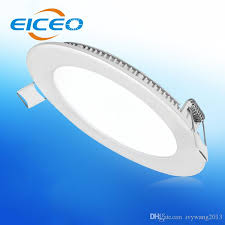 ceiling light flat round 2018 eiceo ultra thin led grille panel lights spotlights downlight