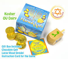 chanukah chocolate gelt gift party favors 2g1d milk chocolate gold coins and a dreidel
