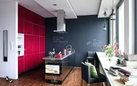 couleur murs cuisine couleur mur cuisine des armoires de couleur cyclamen et un mur gris