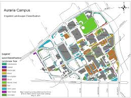 University Of Arkansas Campus Map Auraria Campus Your Water Colorado Blog