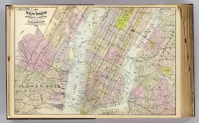 Old Map New York City by 1 New York Brooklyn Jersey City David Rumsey Historical Map