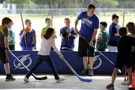cypress 3rd graders get a taste of hockey tbo com