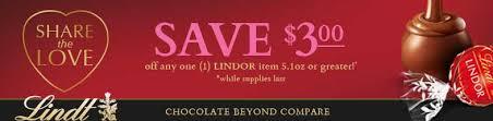 amazon lindt black friday lindt chocolate coupon 3 00 off u003d free lindt chocolate coupon