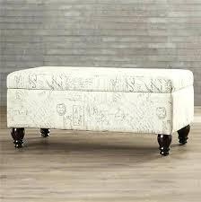 Padded Storage Bench Upholstered Storage Bench Canada Baxton Studio Quaid Contemporary