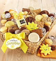 thinking of you gift baskets get well gifts cookie gifts for a speedy recovery