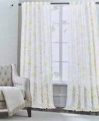amazon com tahari yellow gray trendart floral paisley pair of
