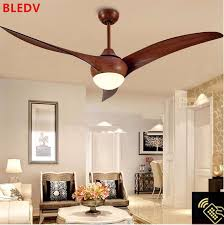 52 ceiling fan with light and remote control 52 inch nordic brown vintage ceiling fan with lights remote control